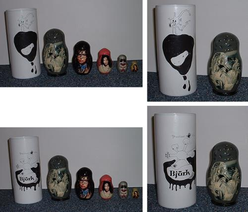 Björk Greatest Hits Russian Nesting Dolls memorabilia UK BJKMMGR241028
