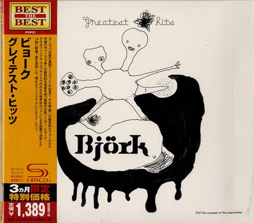 Björk Greatest Hits SHM CD Japanese BJKHMGR630963