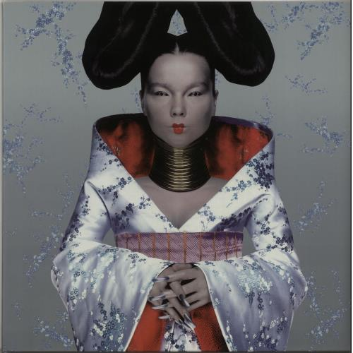 Björk Homogenic + Poster vinyl LP album (LP record) UK BJKLPHO287116