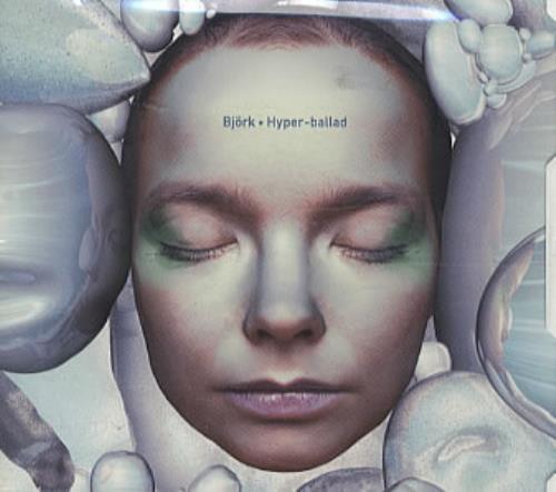 "Björk Hyperballad CD single (CD5 / 5"") US BJKC5HY61047"