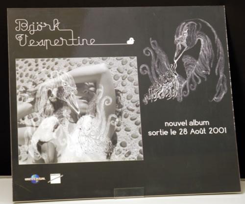 Björk Vespertine display French BJKDIVE616948