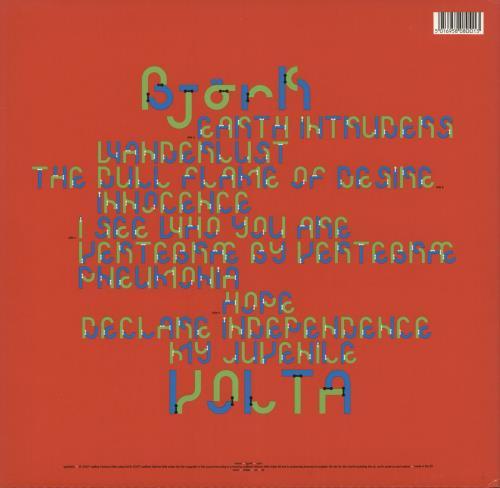 Björk Volta Vinyl Box Set UK BJKVXVO398631
