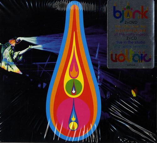 Björk Voltaic 4-CD album set UK BJK4CVO461487