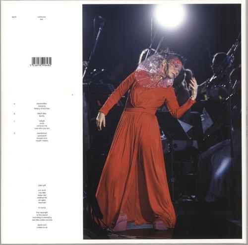 Björk Vulnicura Live - 180gm Vinyl 2-LP vinyl record set (Double Album) UK BJK2LVU733356