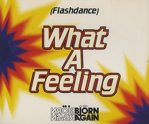 "Bjorn Again Flashdance What A Feeling CD single (CD5 / 5"") UK BJAC5FL85335"