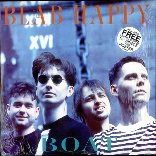 "Blab Happy Boat + Bonus 12"" & Poster vinyl LP album (LP record) UK B6DLPBO516284"