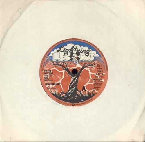 "Blackbeard Don't Let This Good Thing Go Bad 7"" vinyl single (7 inch record) UK Z1A07DO740732"