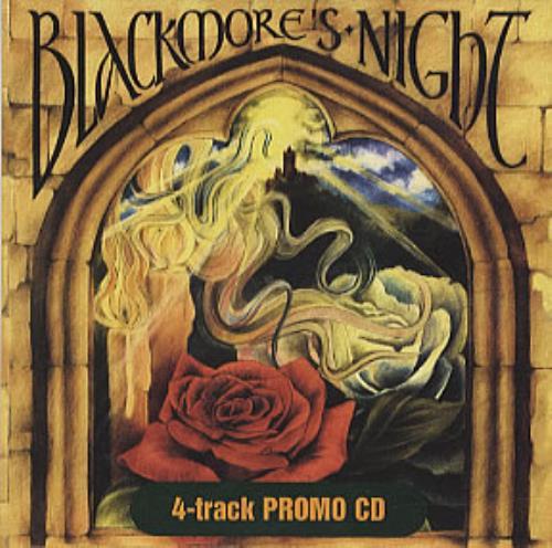 "Blackmore's Night 4-Track Promo CD CD single (CD5 / 5"") German BN-C5TR310727"