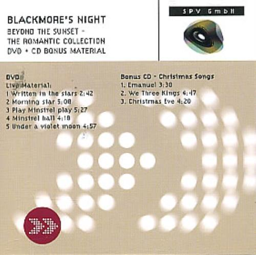 Blackmore's Night Beyond The Sunset - The Romantic Collection 2-disc CD/DVD set US BN-2DBE302865