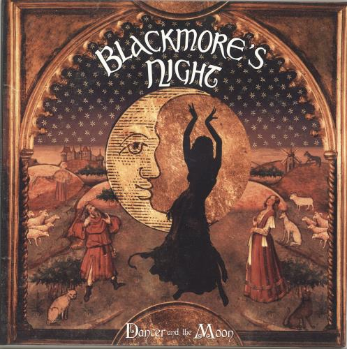 Blackmore's Night Dancer And The Moon 2-LP vinyl record set (Double Album) UK BN-2LDA691453