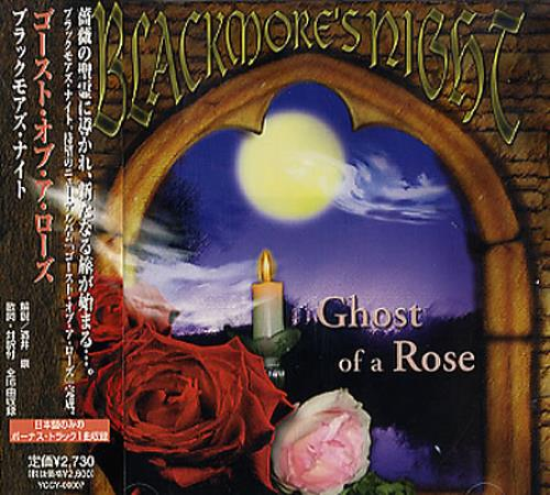 Blackmore S Night Ghost Of A Rose Japanese Promo Cd Album