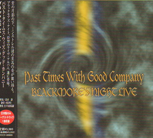 Blackmore's Night Past Times With Good Company 2 CD album set (Double CD) Japanese BN-2CPA639624
