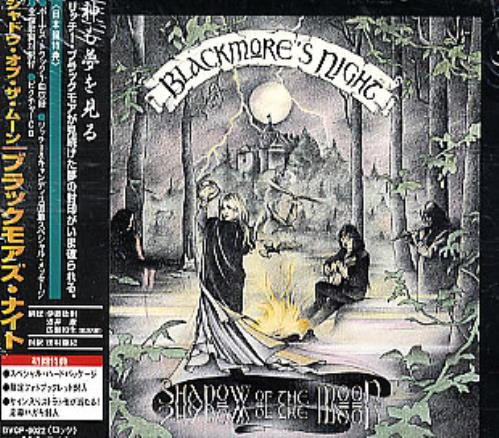 Blackmore's Night Shadow Of The Moon CD album (CDLP) Japanese BN-CDSH292892