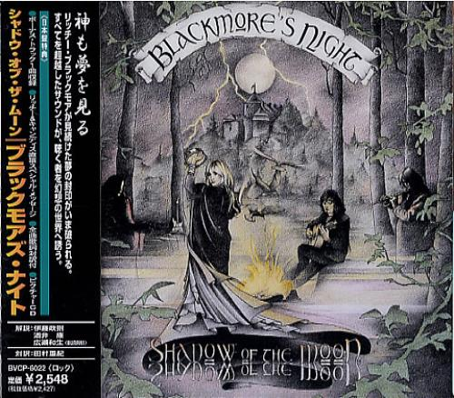 Blackmore's Night Shadow Of The Moon CD album (CDLP) Japanese BN-CDSH81717