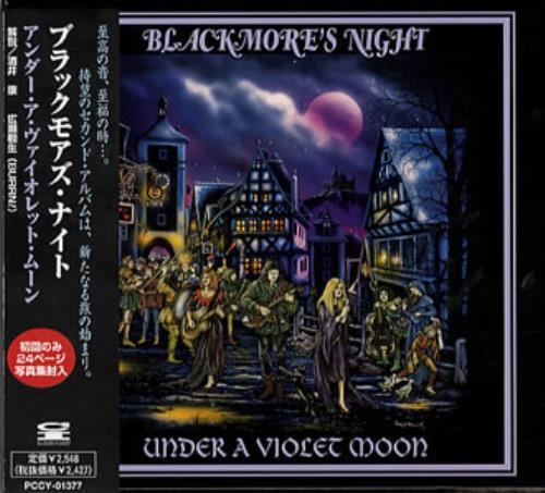 Blackmore's Night Under A Violet Moon CD album (CDLP) Japanese BN-CDUN132255