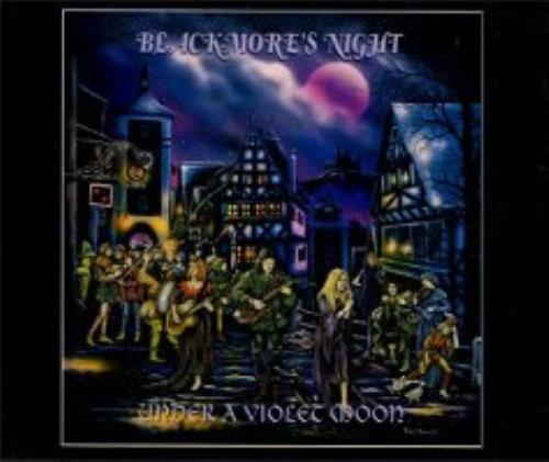 Blackmore's Night Under A Violet Moon CD album (CDLP) Japanese BN-CDUN143364