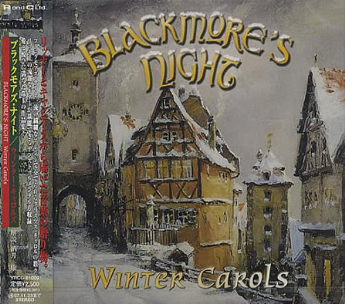 Blackmore's Night Winter Carols CD album (CDLP) Japanese BN-CDWI377183