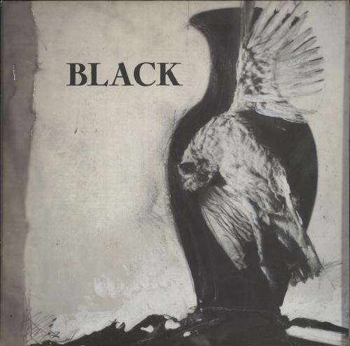 Black Black vinyl LP album (LP record) UK BAKLPBL466209