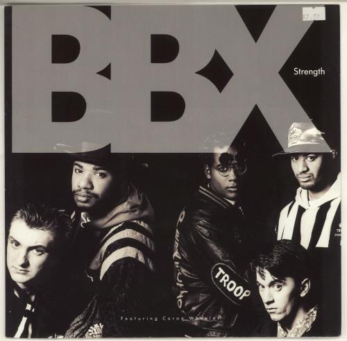 "Black Britain Strength 12"" vinyl single (12 inch record / Maxi-single) UK FQD12ST725648"