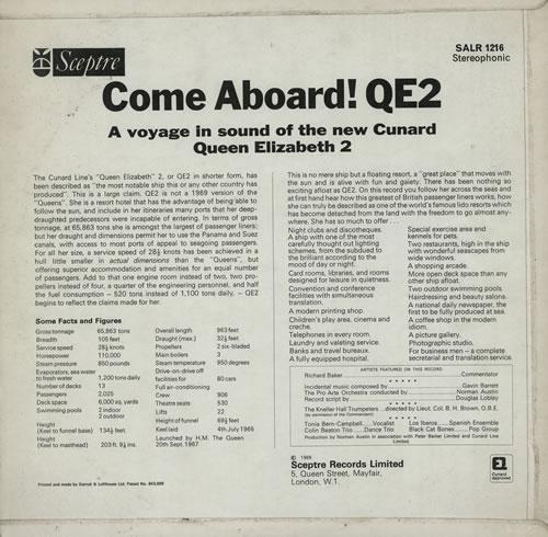 Black Cat Bones Come Aboard! QE2 vinyl LP album (LP record) UK BC-LPCO577125