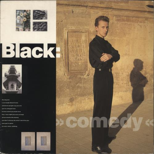 Black Comedy vinyl LP album (LP record) UK BAKLPCO190171