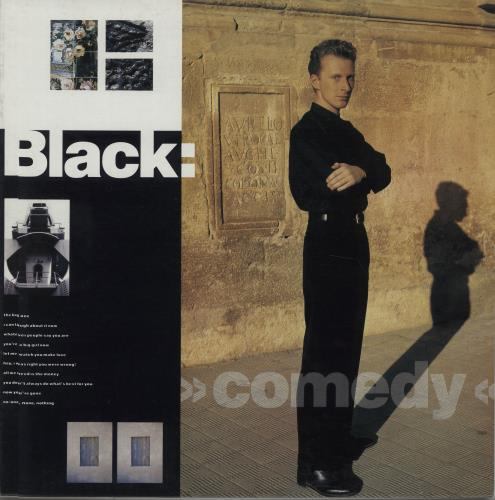 Black Comedy vinyl LP album (LP record) Australian BAKLPCO670860