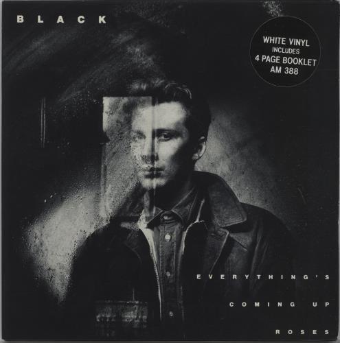 "Black Everything's Coming Up Roses  - White Vinyl 7"" vinyl single (7 inch record) UK BAK07EV199183"
