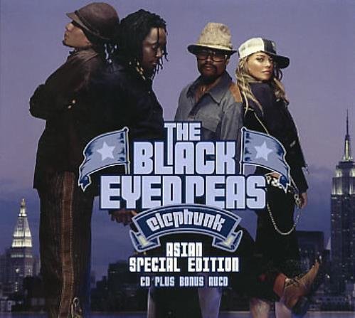 Black Eyed Peas Elephunk - Sealed 2 CD album set (Double CD) Thailand BPE2CEL284752