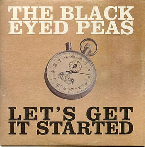 "Black Eyed Peas Let's Get It Started CD single (CD5 / 5"") UK BPEC5LE297523"