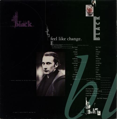 "Black Feel Like Change 12"" vinyl single (12 inch record / Maxi-single) UK BAK12FE594596"