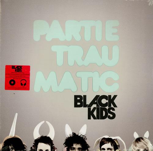 Black Kids Partie Traumatic - Sealed vinyl LP album (LP record) US KI8LPPA457814