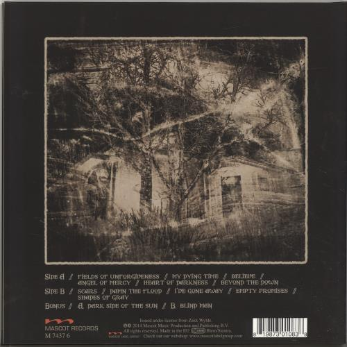 "Black Label Society Catacombs Of The Black Vatican + 7"" vinyl LP album (LP record) German AKSLPCA695753"
