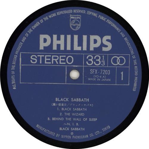Black Sabbath Black Sabbath + 2000 yen obi vinyl LP album (LP record) Japanese BLKLPBL723104
