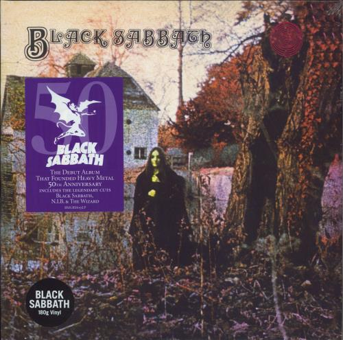 Black Sabbath Black Sabbath - 180gm Vinyl - Sealed vinyl LP album (LP record) UK BLKLPBL677218
