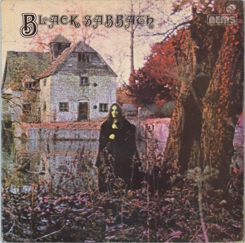 Black Sabbath Black Sabbath - 1976 Issue vinyl LP album (LP record) UK BLKLPBL393274