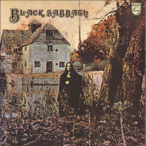 Black Sabbath Black Sabbath vinyl LP album (LP record) Japanese BLKLPBL438844
