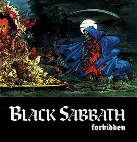 Black Sabbath Forbidden Brazilian Vinyl Lp Album Lp
