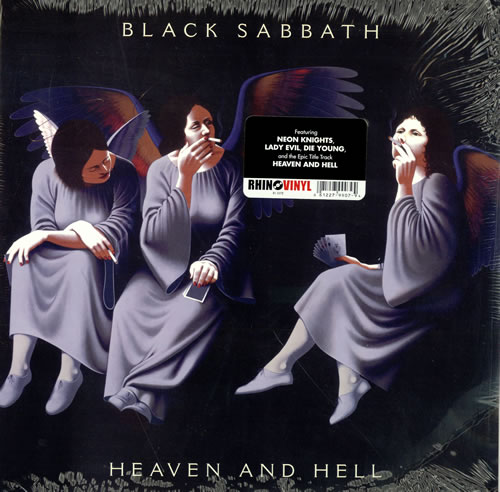 black sabbath heaven and hell virgin vinyl us vinyl lp album lp record 468297. Black Bedroom Furniture Sets. Home Design Ideas