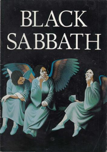 Black Sabbath Heaven And Hell Tour Angel Wings Cover Uk