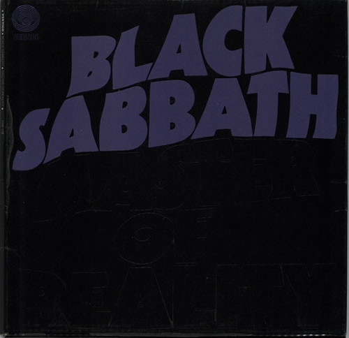 Black Sabbath Master Of Reality - 1st - EX vinyl LP album (LP record) UK BLKLPMA63517