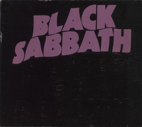 Black Sabbath Master Of Reality CD album (CDLP) UK BLKCDMA665592