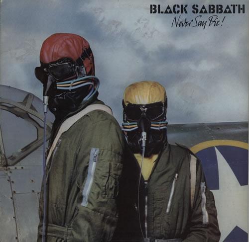 Black Sabbath Never Say Die! - EX vinyl LP album (LP record) UK BLKLPNE572183