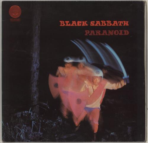 Black Sabbath Paranoid - 3rd - EX vinyl LP album (LP record) UK BLKLPPA662674