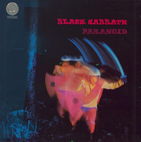 Black Sabbath Paranoid - 3rd vinyl LP album (LP record) UK BLKLPPA577332