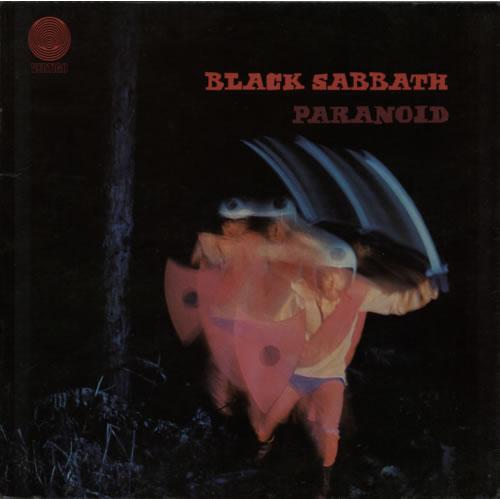 Black Sabbath Paranoid - 4th vinyl LP album (LP record) UK BLKLPPA588481