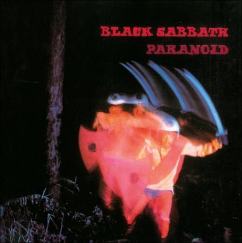 Black Sabbath Paranoid 2-LP vinyl record set (Double Album) UK BLK2LPA464791