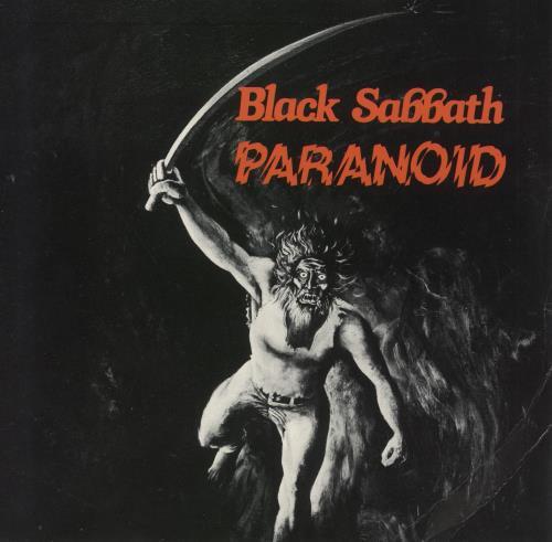Black Sabbath Paranoid Uk 7 Quot Vinyl Single 7 Inch Record