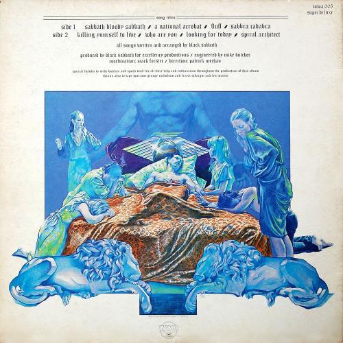 Black Sabbath Sabbath Bloody Sabbath - 1st + Inner - EX/EX vinyl LP album (LP record) UK BLKLPSA582538