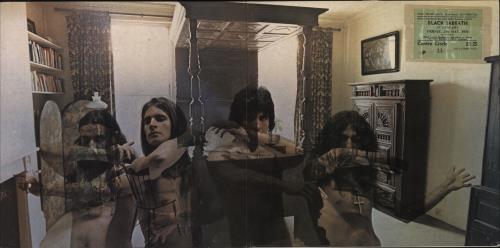 Black Sabbath Sabbath Bloody Sabbath - 2nd - VG + Inner + Ticket Stub vinyl LP album (LP record) UK BLKLPSA718981