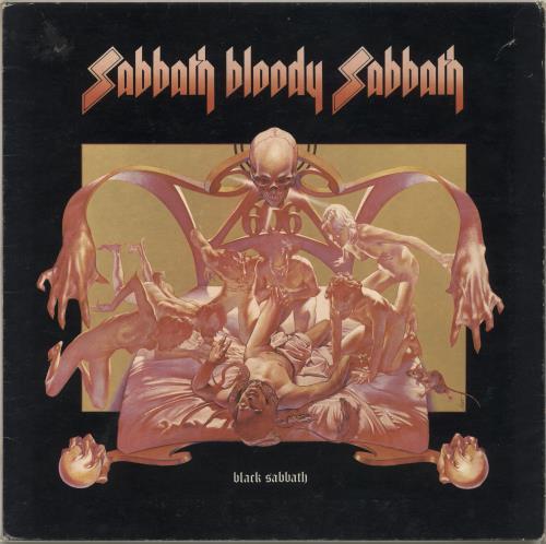 Black Sabbath Sabbath Bloody Sabbath - 2nd - VG vinyl LP album (LP record) UK BLKLPSA715770
